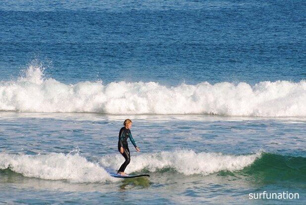 Bondi Beach softboard fun