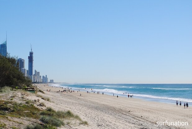 Broadbeach looking north