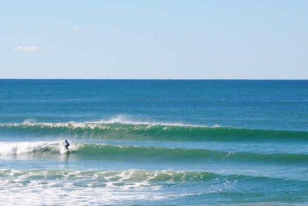 Coolum Beach lefts
