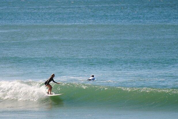 Coolum surfing fun