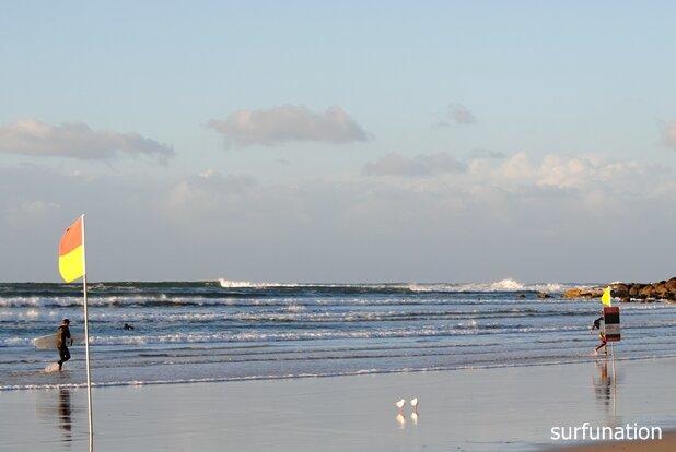 Greenmount Beach inner sandbar
