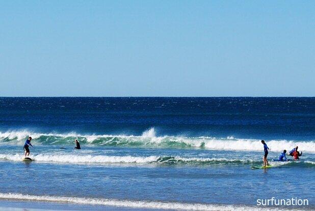 Lennox Head surfing