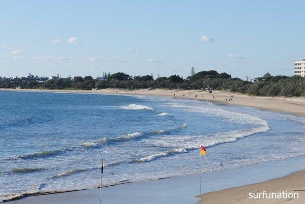 Mooloolaba Beach looking east