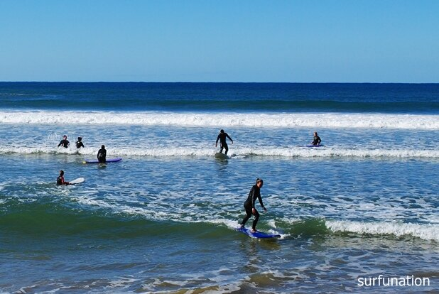 Coffs Harbour surf lesson at Park Beach South
