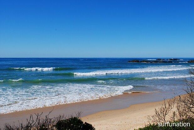 Sawtell  Beach surf