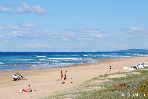 Sunshine Beach looking south to Coolum
