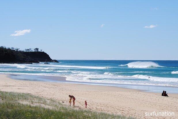 Sunshine Beach northern corner