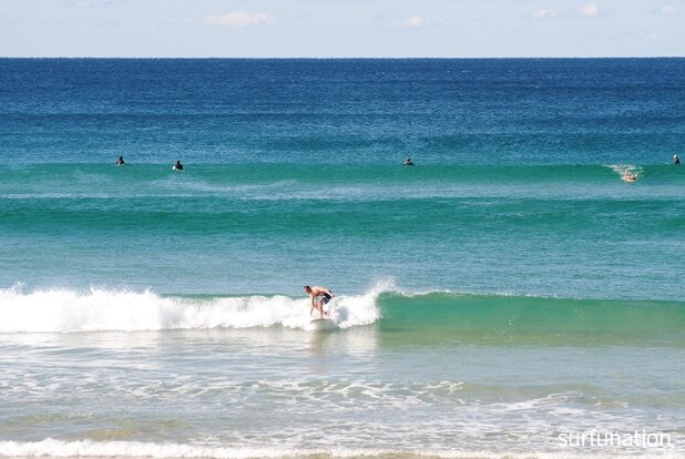 Sunshine Beach shorey take off