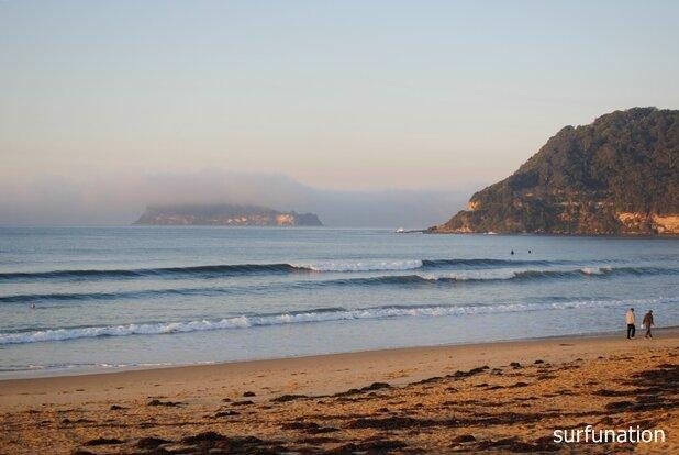 Sunrise umina beach