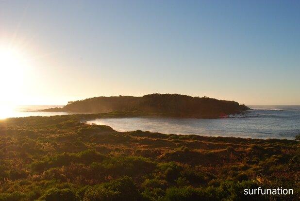 Broulee Island Sunrise
