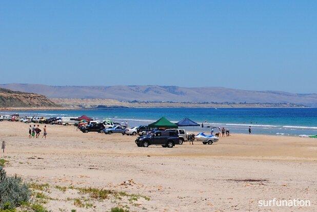 Moana Beach looking south