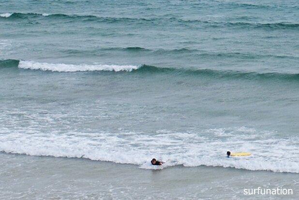 Smiths Beach PI tiny surf day