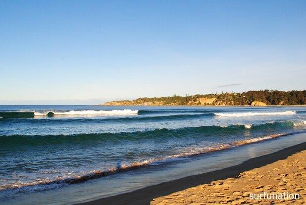 Tathra Beach High Tide Waves