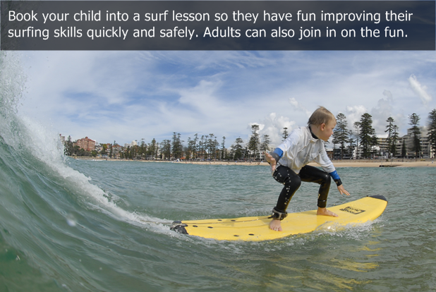 fc80a2c370 How to introduce children to surfing